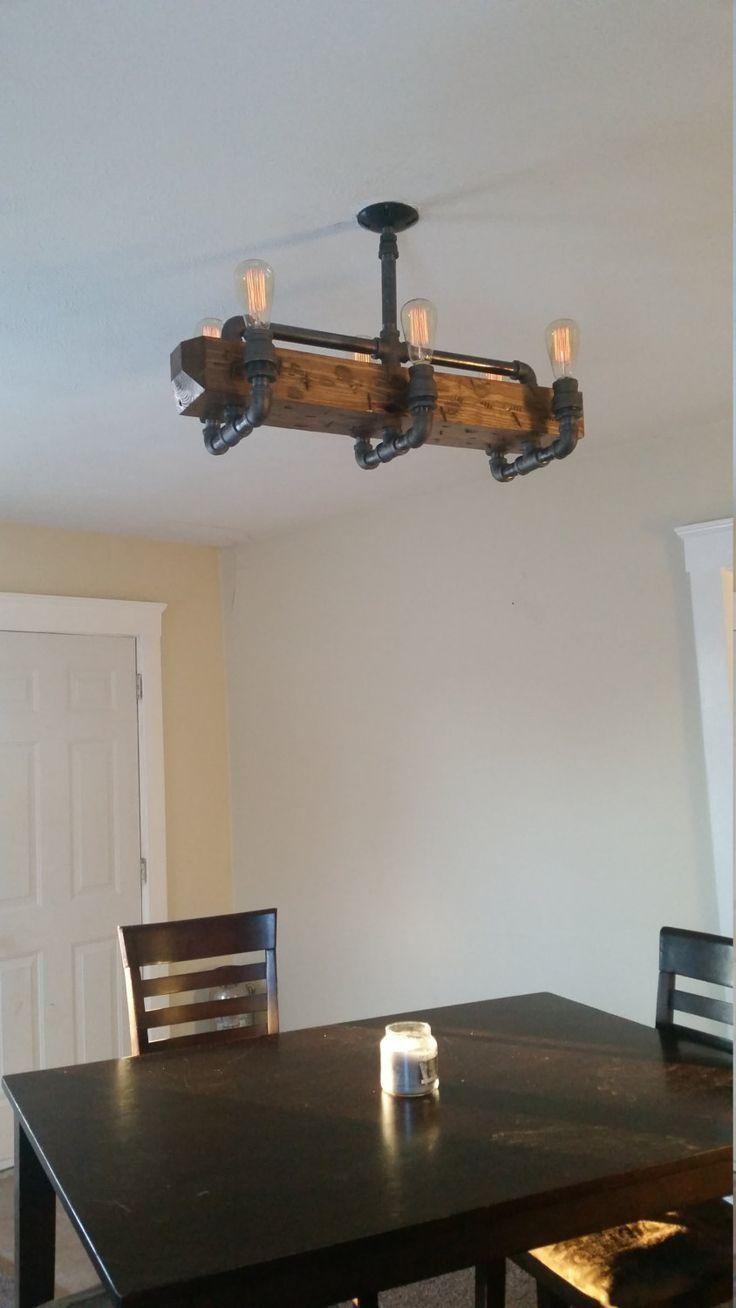 25+ Best Pipe Lighting Ideas On Pinterest | Industrial Wall Art Pertaining To Metal Chandelier Wall Art (View 13 of 20)