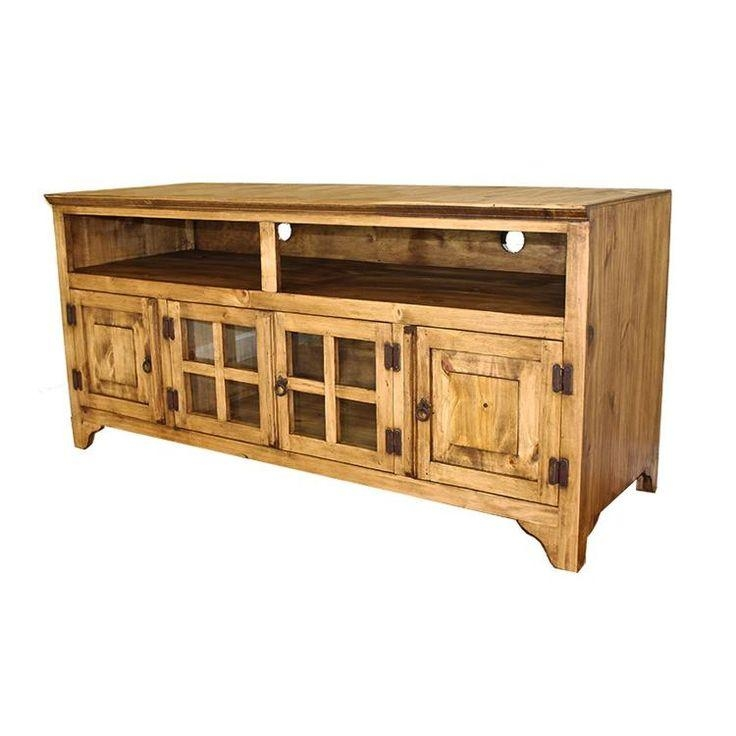 25 Best Rustic Pine Tv Stands Images On Pinterest | Mexican For Current Rustic Pine Tv Cabinets (Image 1 of 20)