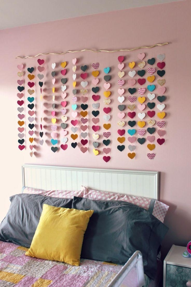 25+ Best Simple Girls Bedroom Ideas On Pinterest | Small Girls Inside Wall Art For Teenage Girl Bedrooms (Image 1 of 20)