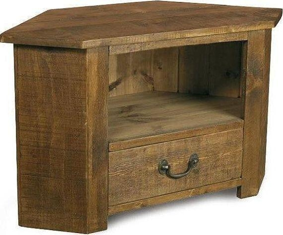 25 Best Tv Stand Images On Pinterest | Tv Stands, Entertainment For 2018 Real Wood Corner Tv Stands (View 11 of 20)