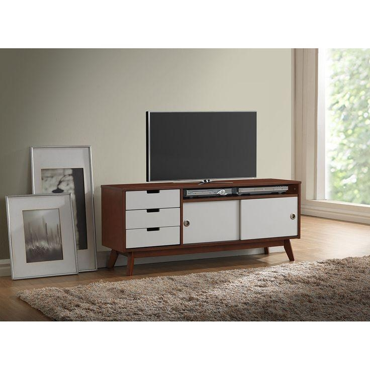 26 Best Av Console Images On Pinterest | Media Storage, Tv Units With Newest Dark Walnut Tv Stands (View 5 of 20)