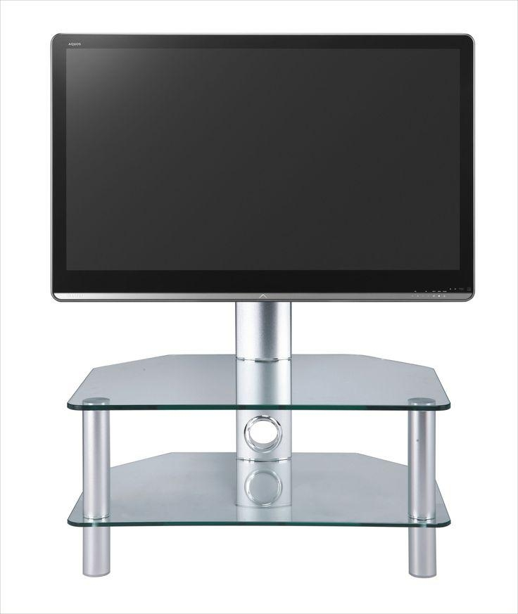 26 Best Clear Glass Tv Stands Images On Pinterest | Clear Glass Intended For 2018 Cheap Cantilever Tv Stands (Image 2 of 20)
