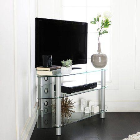 26 Best Media Cabinet Images On Pinterest | Corner Tv Stands Regarding Most Recently Released Silver Corner Tv Stands (View 6 of 20)