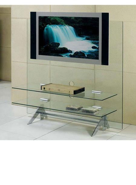 27 Best Tv Stands Images On Pinterest | Tv Stands, Large Screen In 2018 Clear Glass Tv Stand (Image 1 of 20)