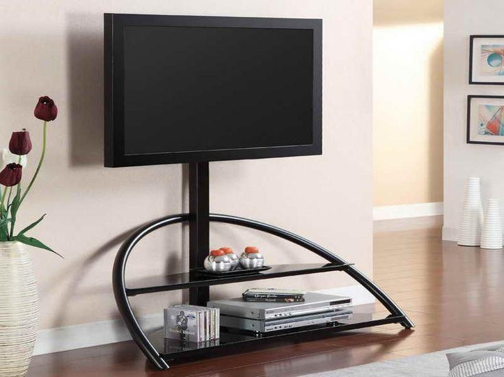 27 Best Tv Stands Images On Pinterest | Tv Stands, Large Screen Regarding 2018 Swivel Black Glass Tv Stands (Image 2 of 20)