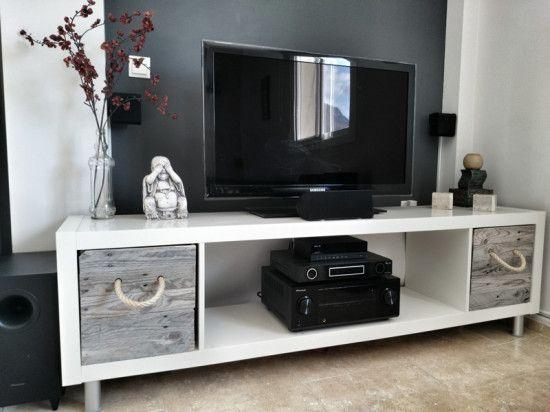 279 Best Tv Stands Images On Pinterest | Entertainment, Tv Stands Pertaining To Most Recently Released Telly Tv Stands (Image 2 of 20)