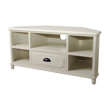 28 Best Corner Cabinet Images On Pinterest   Corner Tv Stands Pertaining To  Most Popular White
