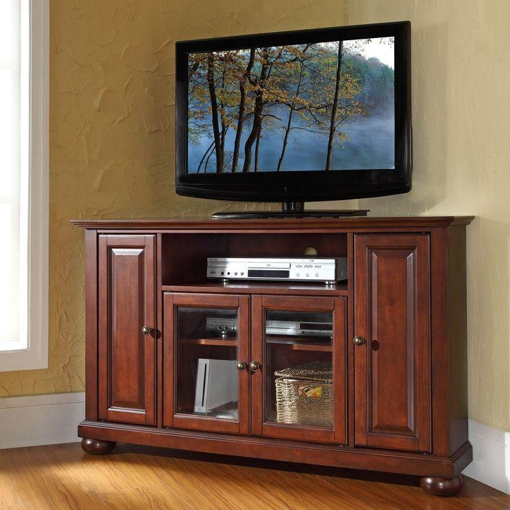 28 Best Corner Cabinet Images On Pinterest | Corner Tv Stands Throughout Most Popular Mahogany Corner Tv Cabinets (Image 2 of 20)