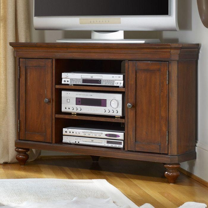 28 Best Corner Cabinet Images On Pinterest | Corner Tv Table In Most Up To Date Wayfair Corner Tv Stands (Image 2 of 20)