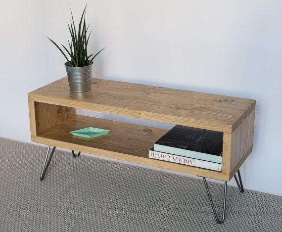 28 Best Tv Stands Images On Pinterest | Wood Tv Stands, Industrial With Regard To Newest Wood Tv Stands (Image 1 of 20)