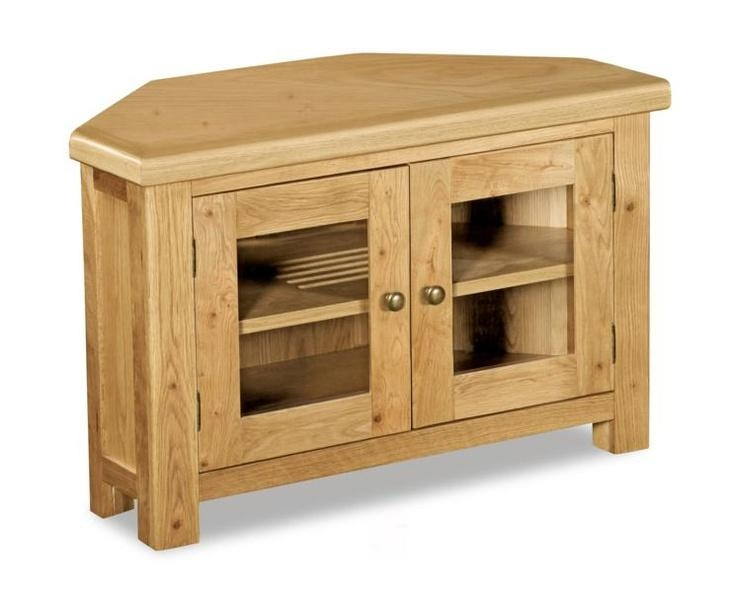 282 Best Tv Cabinets Images On Pinterest | Rooms Furniture, Wooden For 2017 Light Oak Corner Tv Cabinets (View 5 of 20)
