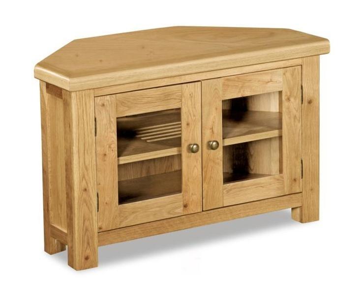 282 Best Tv Cabinets Images On Pinterest | Rooms Furniture, Wooden Intended For Newest Solid Oak Corner Tv Cabinets (Image 2 of 20)