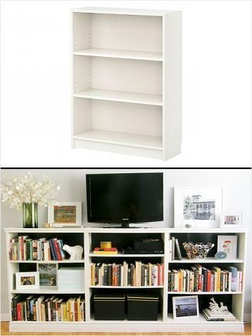 29 Best Tv Wall Images On Pinterest | Hemnes, Living Room Ideas Within Most Up To Date Bookshelf Tv Stands Combo (Image 1 of 20)