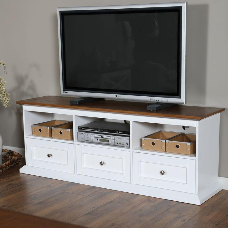 290 Best Tv Stands Images On Pinterest | Tv Stands, Entertainment Inside Newest White Wood Tv Stands (Image 2 of 20)