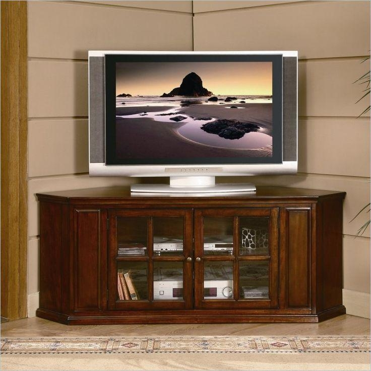 290 Best Tv Stands Images On Pinterest | Tv Stands, Entertainment With Most Current Corner Tv Stands For 55 Inch Tv (Image 1 of 20)