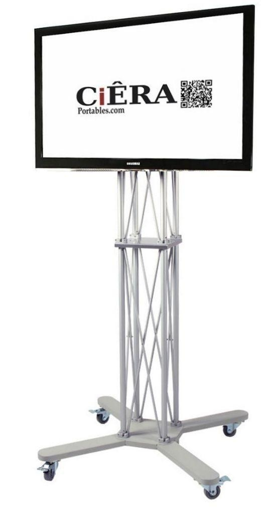 30 Best Extra Tall Monitor & Tv Stand Options For Studio Use Throughout 2017 Tv Stands For 70 Inch Tvs (Image 2 of 20)