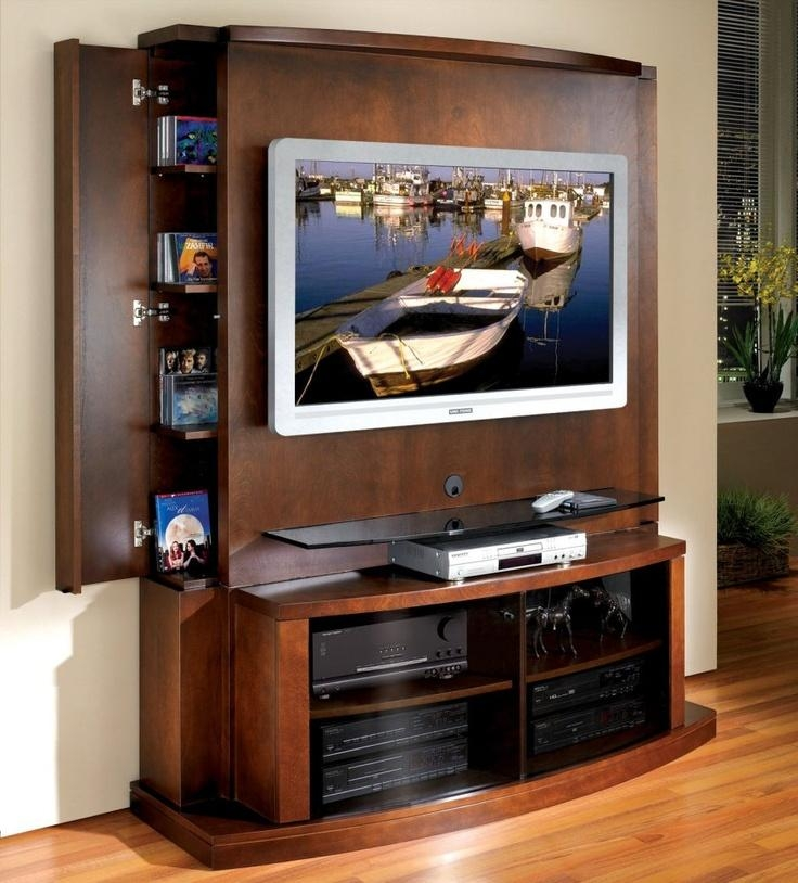 30 Best Flat Screen Tv Images On Pinterest | Entertainment Pertaining To Most Recently Released Modern Tv Stands For Flat Screens (Image 1 of 20)