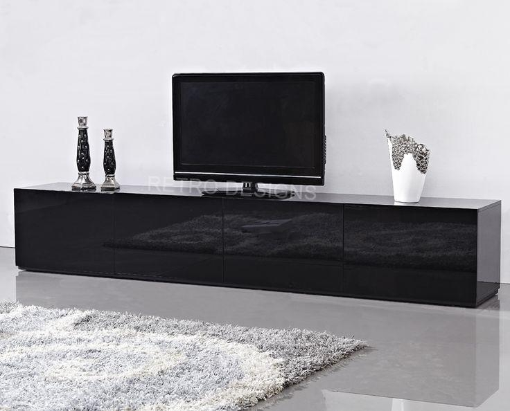 30 Best Tv Units Images On Pinterest | Tv Units, Tv Cabinets And With Regard To Newest Black Tv Cabinets With Drawers (Image 5 of 20)