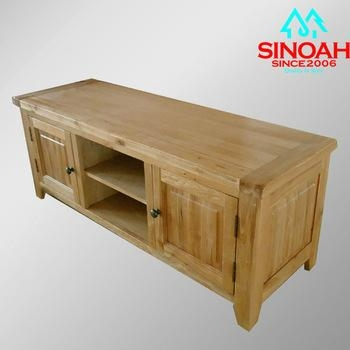 306Rl Cheap Solid American Oak Tv Stands/oak Wood Tv Units – Buy For Current Oak Veneer Tv Stands (View 2 of 20)