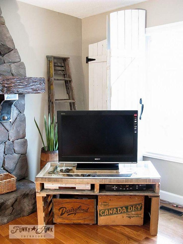 32 Best Decor: Tv Stands Images On Pinterest | Tv Stands Intended For Most Popular Funky Tv Stands (Image 2 of 29)