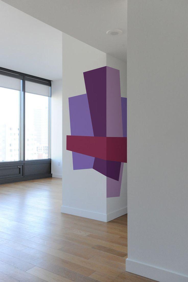 33 Best Peinture Murale Graphique Images On Pinterest | Walls For Blik Wall Art (Image 4 of 20)