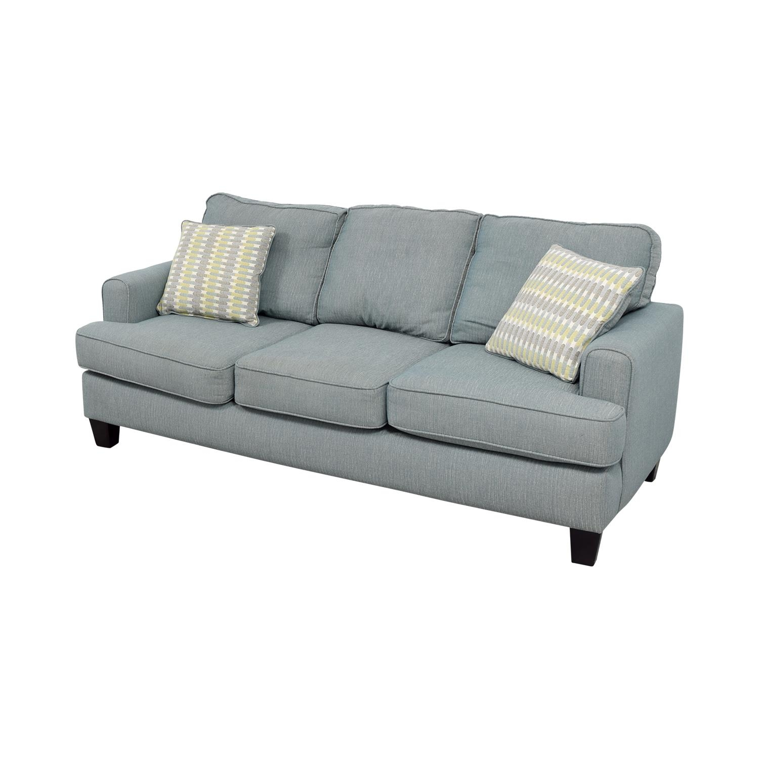 34% Off - Raymour And Flanigan Raymour And Flanigan Willoughby throughout 3 Seater Sofas For Sale