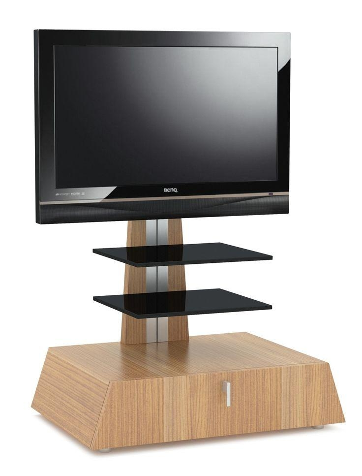 35 Best Cantilever Tv Stands Images On Pinterest | Tv Stands Intended For Most Current Light Oak Tv Stands Flat Screen (Image 1 of 20)