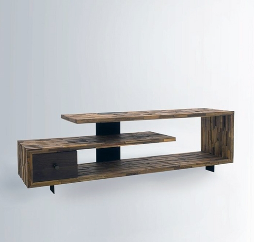 35 Supurb Reclaimed Wood Tv Stands & Media Consoles throughout Best and Newest Contemporary Wood Tv Stands