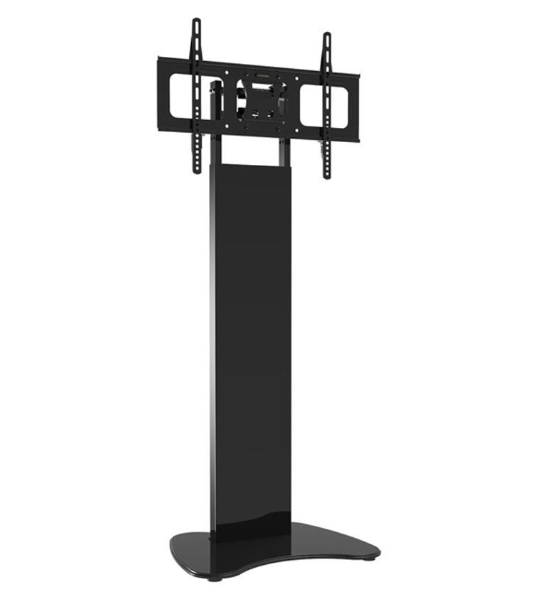 37 60Inch Glass Led Lcd Plasma Tv Stand Floor Lcd Mobile Stand within 2017 Tv Stands With Bracket