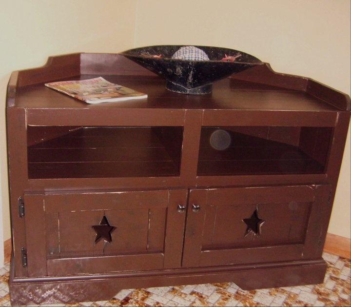 39 Best Home Plans Images On Pinterest   Primitive Furniture, Tv Regarding Current Dark Brown Corner Tv Stands (Image 2 of 20)