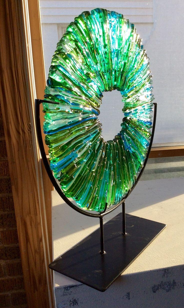 398 Best Glass: Art Pieces Images On Pinterest | Fused Glass In Kiln Fused Glass Wall Art (View 19 of 20)