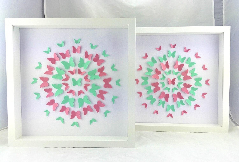 3D Butterfly Framed Wall Art – Wall Murals Ideas Regarding 3D Butterfly Framed Wall Art (Image 2 of 20)