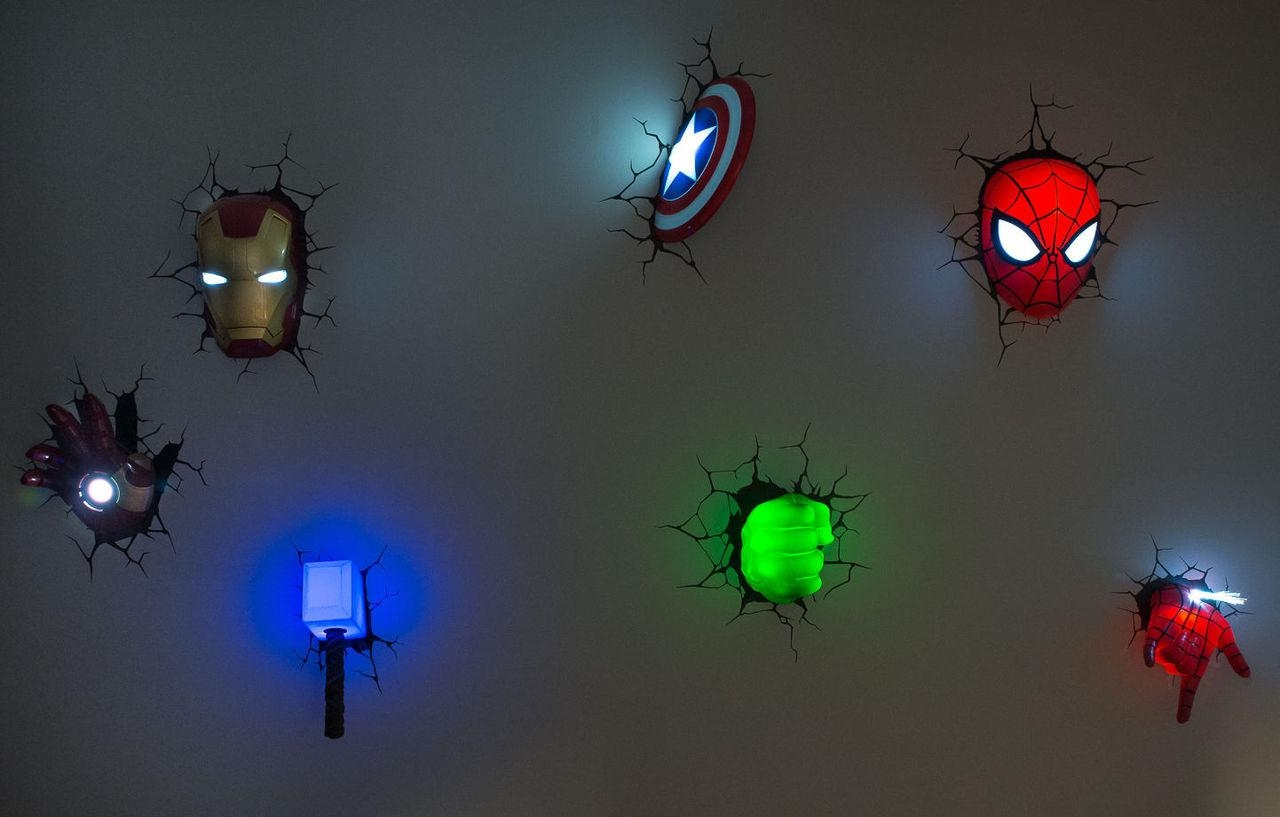 Featured Image of The Avengers 3D Wall Art Nightlight