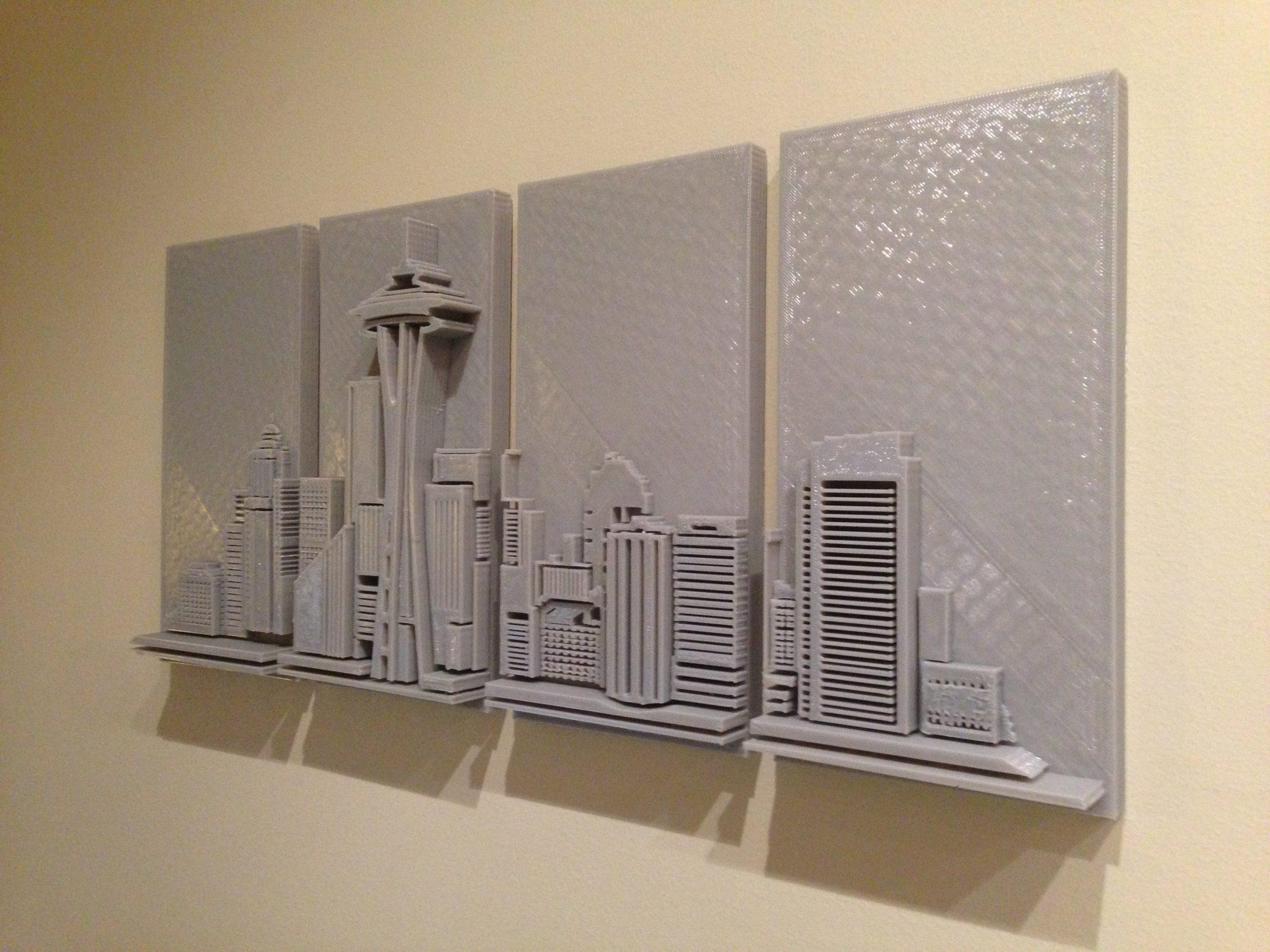 3D Wall Art For Sale | Home Decor Ideas Regarding 3D Printed Wall Art (Image 11 of 20)