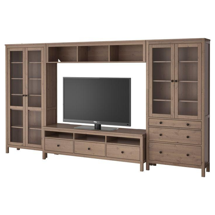 40 Best Furniture Images On Pinterest | Shelf Units, Glass Doors Regarding Most Current Light Colored Tv Stands (Photo 14 of 20)