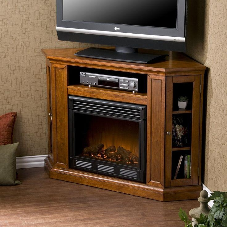 43 Best Corner Fireplace Tv Stand Images On Pinterest | Corner inside Most Current 50 Inch Fireplace Tv Stands