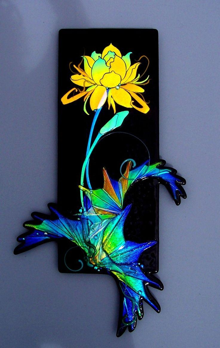 43 Best Glass Art / Laurel Yourkowski Images On Pinterest | Fused Inside Fused Dichroic Glass Wall Art (View 16 of 20)