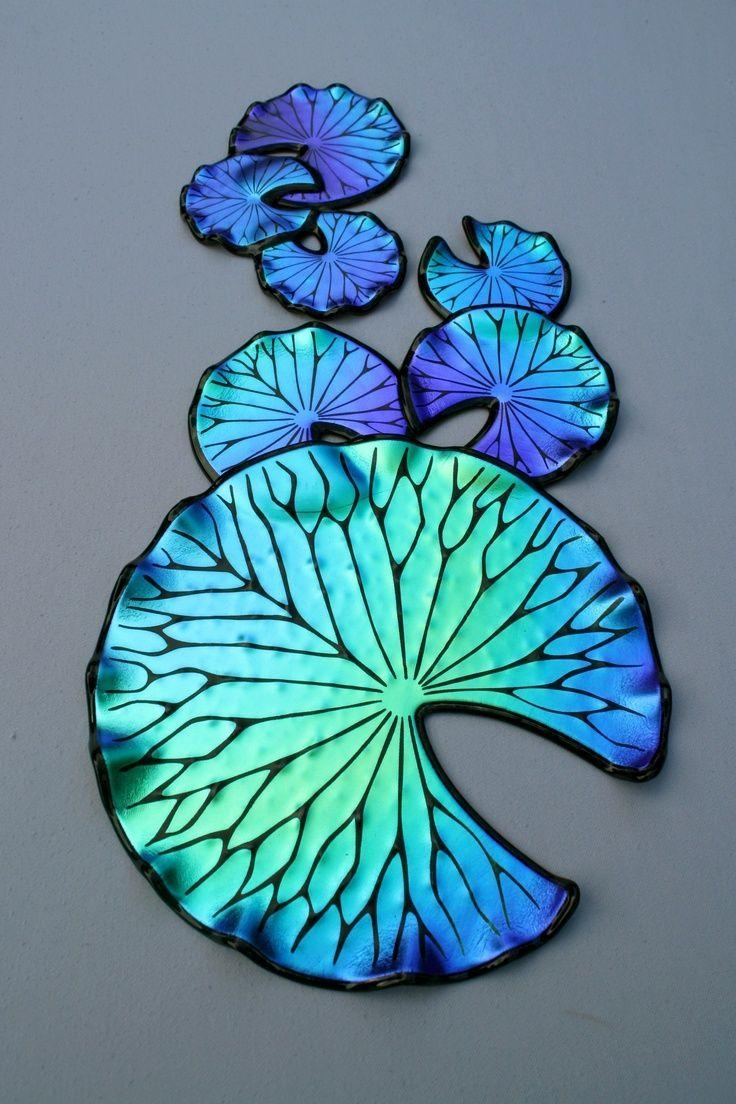 43 Best Glass Art / Laurel Yourkowski Images On Pinterest | Fused inside Fused Dichroic Glass Wall Art