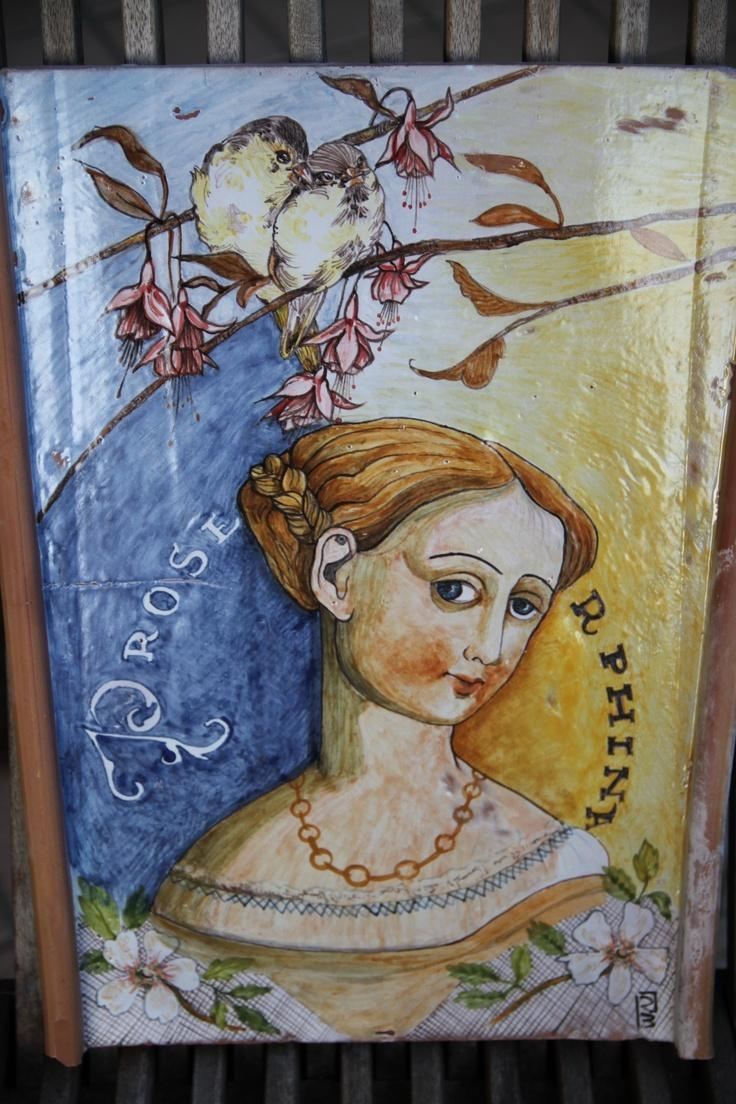 43 Best Italian Ceramic And Art. Email: Erreci1958@yahoo.it Images Inside Midnight Italian Plates Wall Art (Photo 15 of 20)