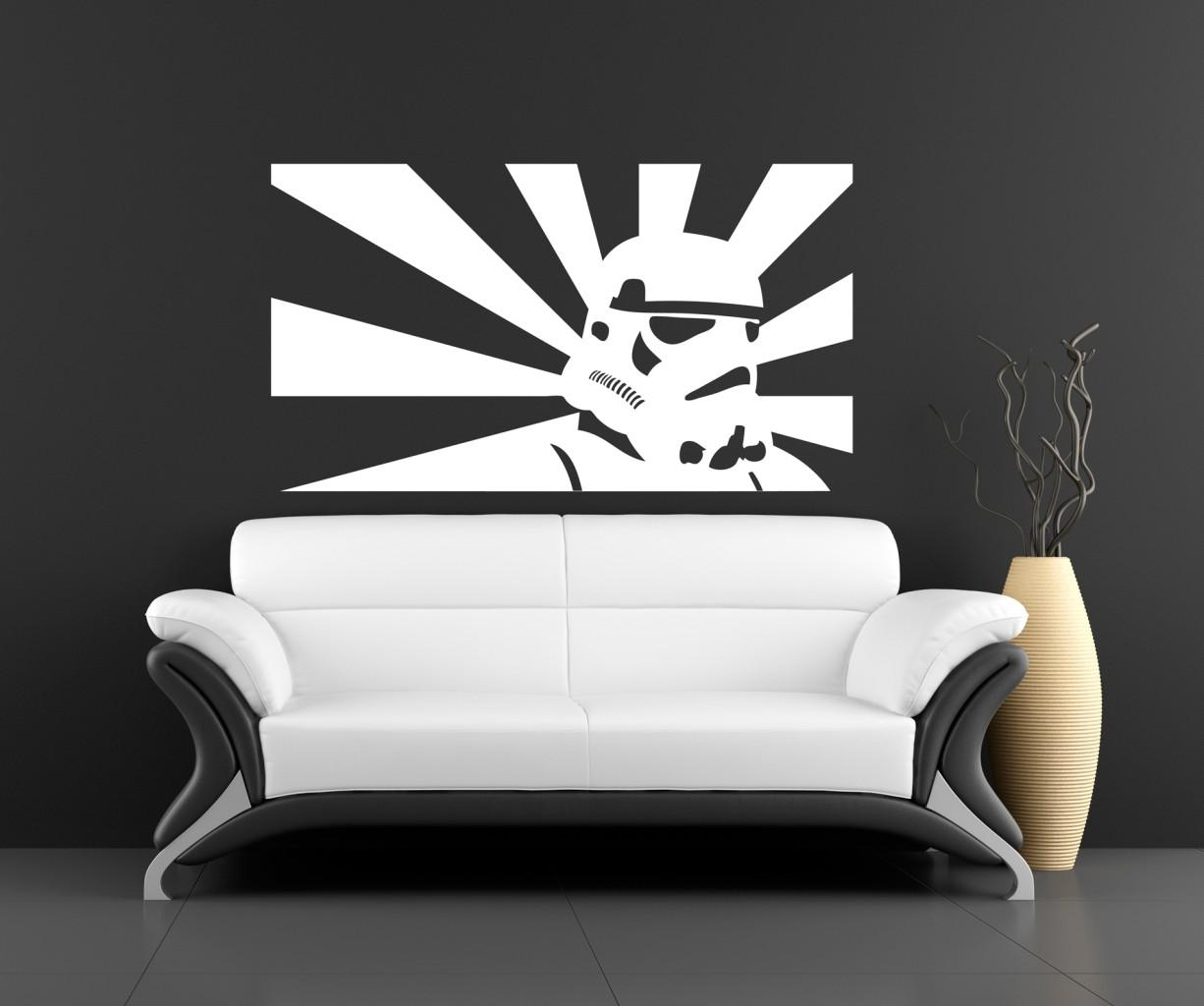 45 Best Star Wars Room Ideas For 2017 Intended For Diy Star Wars Wall Art (Photo 18 of 20)
