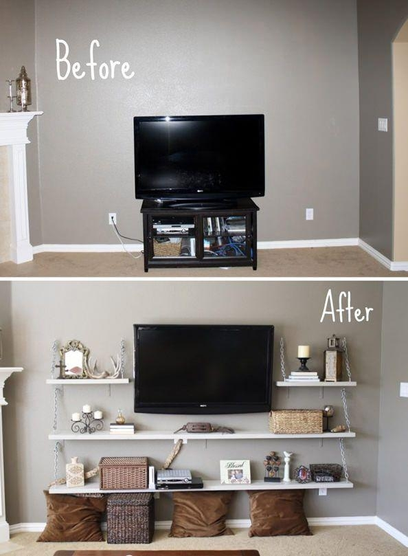 45 Best Tv Stands – Home Images On Pinterest | Tv Walls, Living Regarding 2018 Tv Stands For Small Rooms (Photo 3913 of 5778)