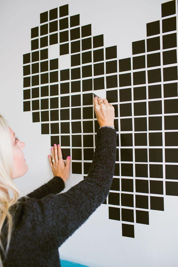 450 Best Diy Images On Pinterest | Washi Tape, Amy Butler And throughout Duct Tape Wall Art