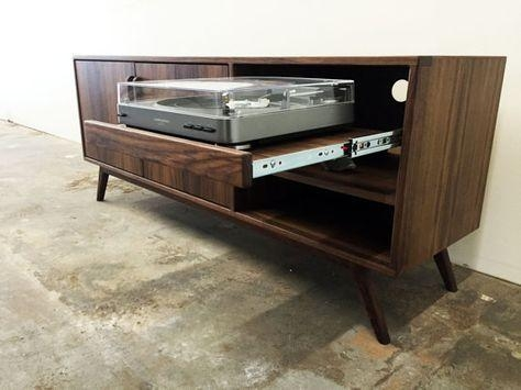 46 Best Media Console Images On Pinterest | Media Consoles, Tv With 2017 Turntable Tv Stands (Image 2 of 20)