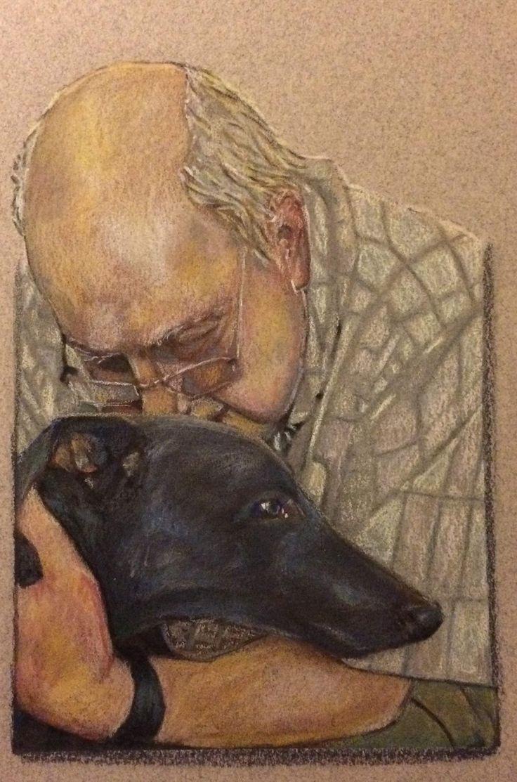 463 Best Greyhounds Images On Pinterest   Greyhounds, Greyhound With Regard To Italian Greyhound Wall Art (Image 6 of 20)