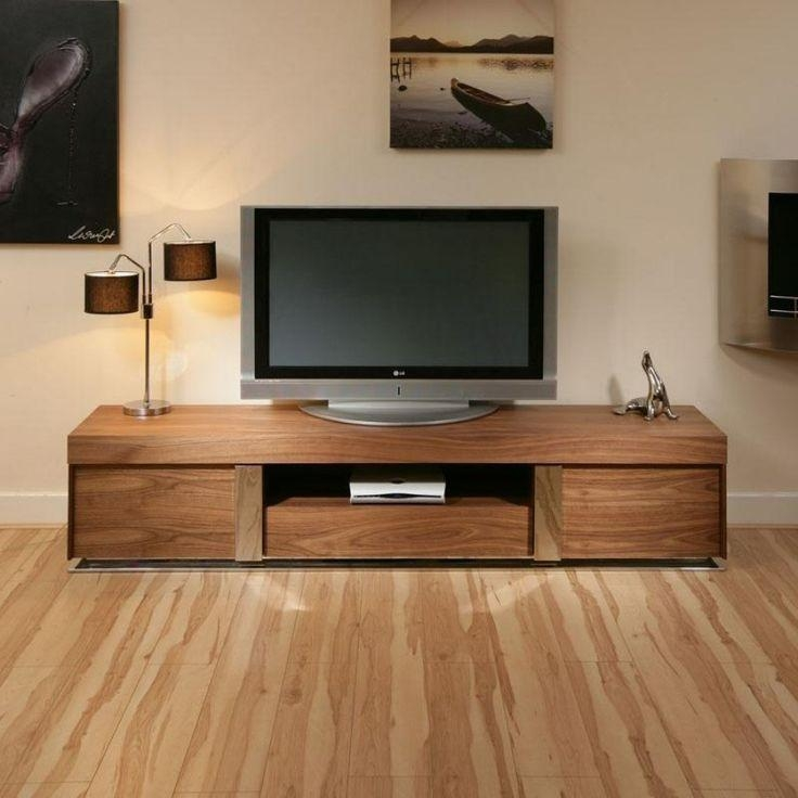 47 Best Stylish Television Cabinets Images On Pinterest | Living With Most Up To Date Walnut Tv Cabinets With Doors (Image 1 of 20)