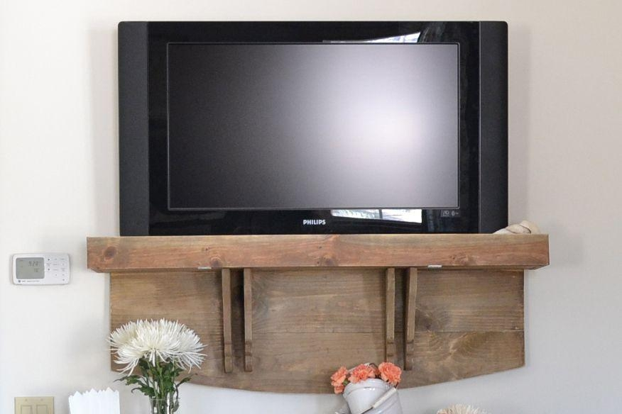 5 Diy Tv Stands That Hide Ugly Cable Boxes And Wires Intended For Newest Tv Stands Over Cable Box (View 9 of 20)