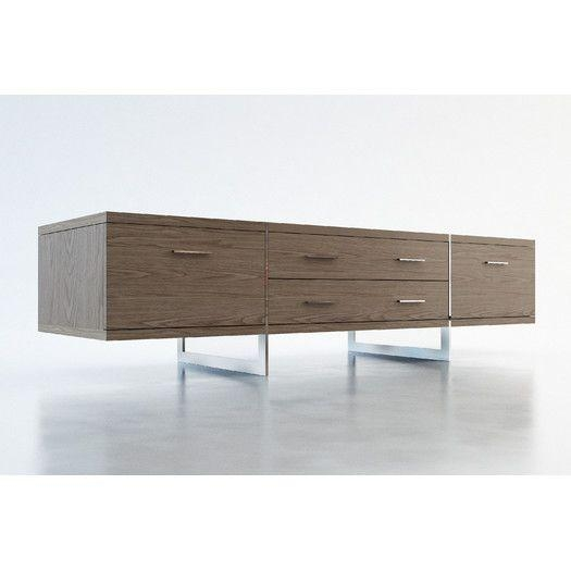 50 Best Media Consoles Images On Pinterest | Media Consoles, Tv Pertaining To Latest All Modern Tv Stands (Image 2 of 20)