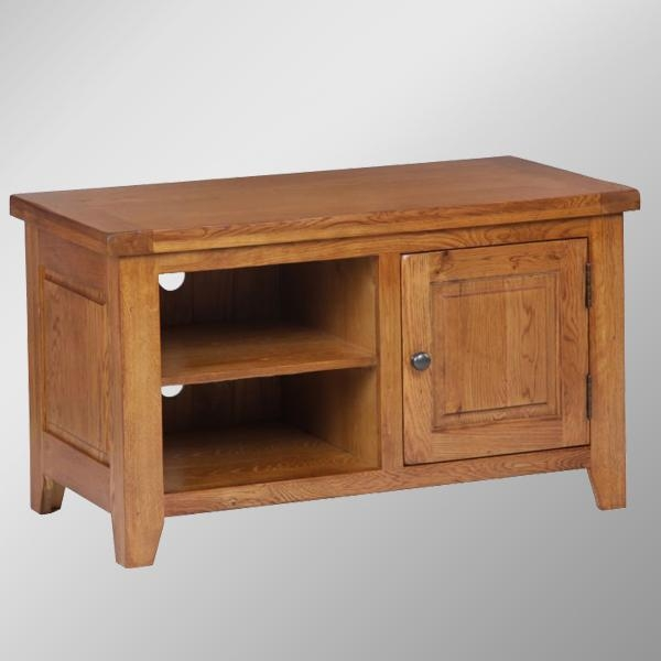 506 Range Distressed Oak Small Tv Stands/oak Wood Tv Unit - Buy pertaining to Most Up-to-Date Small Tv Stands