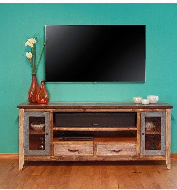 52 Best Tv Consoles Images On Pinterest | Tv Stands, Tv Consoles Pertaining To Best And Newest Tv Stands 40 Inches Wide (Image 1 of 20)