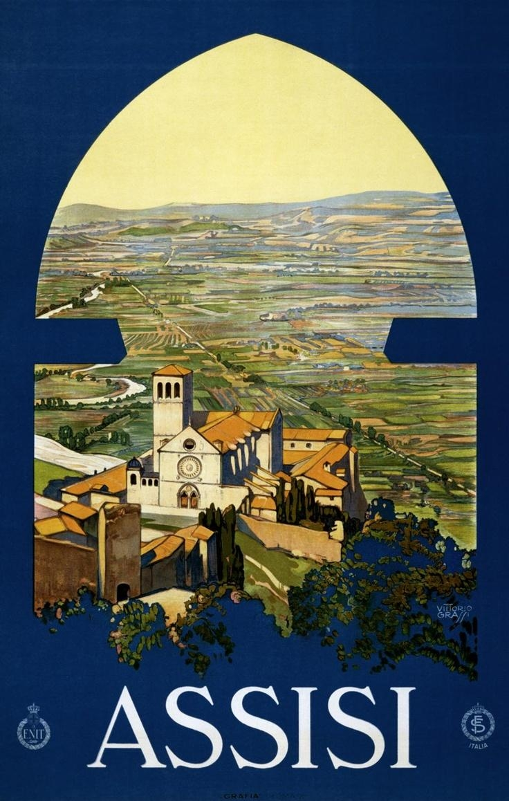 55 Best Poster Images On Pinterest | Vintage Travel Posters Pertaining To Italian Travel Wall Art (Image 2 of 20)
